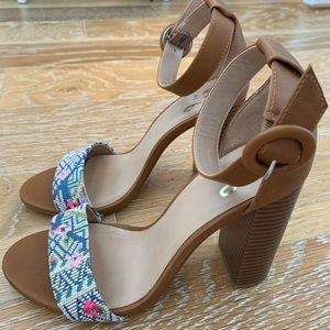 Mix No. 6 Block Heel Sandals